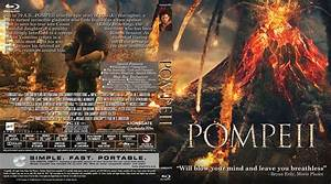 Pompeii Blu-Ray DVD Cover & Label (2014) R0 Custom Art