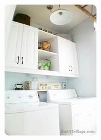 laundry room makeovers Laundry Room Makeover- the DIY village