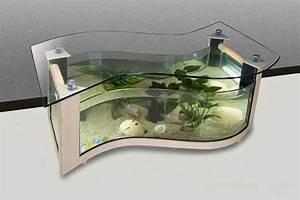 Beautiful Coffee Table Aquariums - Quiet Corner