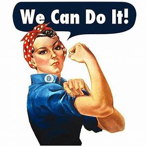We Can Do It -- Doggie Tee – Feminist Apparel