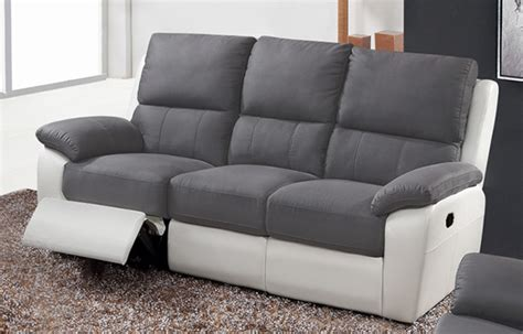 canape 3 places relax canap 233 3 places 2 relax manuel berlin luba gris fonc 233 pu