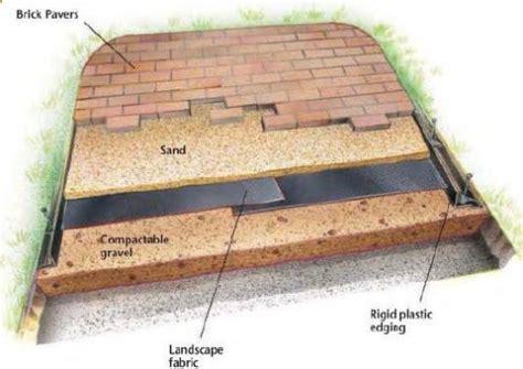how to build a paver patio my garden patio patio enthusiast