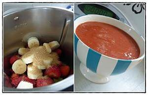 Cuisiner Avec Thermomix : compote rhubarbe fraises banane version avec thermomix ~ Melissatoandfro.com Idées de Décoration