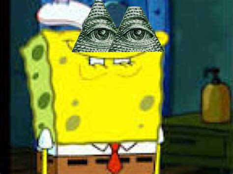 spongebob illuminati spongebob illuminati meme pictures to pin on