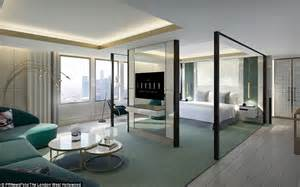 house plans two master suites vivienne westwood designs penthouse at the west hotel daily mail