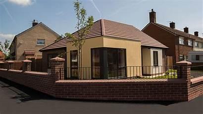 Liverpool Kirkby Housing Social Ltd Homes Bungalow