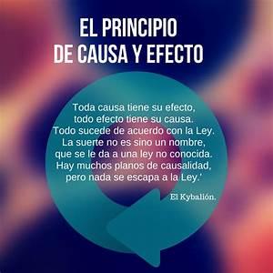 El Principio De Causa Y Efecto  Kybalion