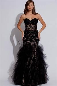 Black lace mermaid prom dresses Naf Dresses