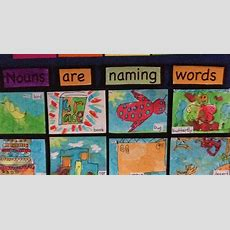 The Learning Curve Nouns Are Naming Words