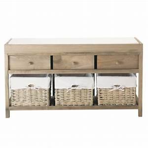 Banc De Rangement Maison Du Monde : d co naturelle notre s lection de meubles en bois ~ Premium-room.com Idées de Décoration