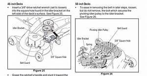 Cub Cadet Lt1046 Deck Diagram