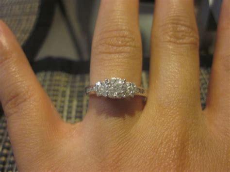 zales engagement ring weddingbee