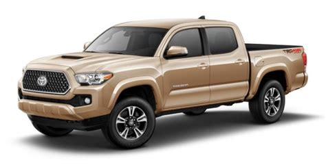 Toyota Colors by 2018 Toyota Tacoma Color Options