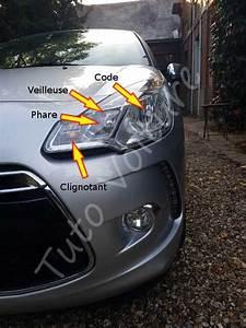 Feux De Croisement C3 : ampoule avant comment les changer sur une citro n ds3 tuto voiture ~ Medecine-chirurgie-esthetiques.com Avis de Voitures