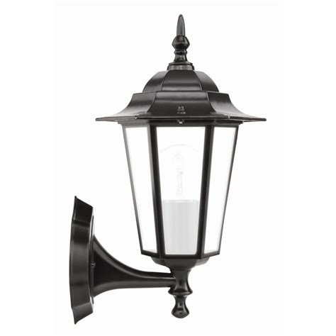 brilliant 60w nottingham black coach exterior wall light
