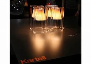 Luminaire Kartell : light air lampe de table kartell milia shop ~ Voncanada.com Idées de Décoration