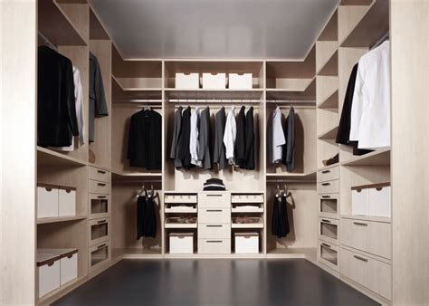 Walk In Wardrobe Design by Walk In Wardrobe Mix Of Drawers Open Shelves And