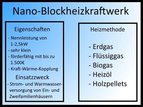 Energietraeger Experten Rat Zum Blockheizkraftwerk by Nano Blockheizkraftwerke Sind Sparsam