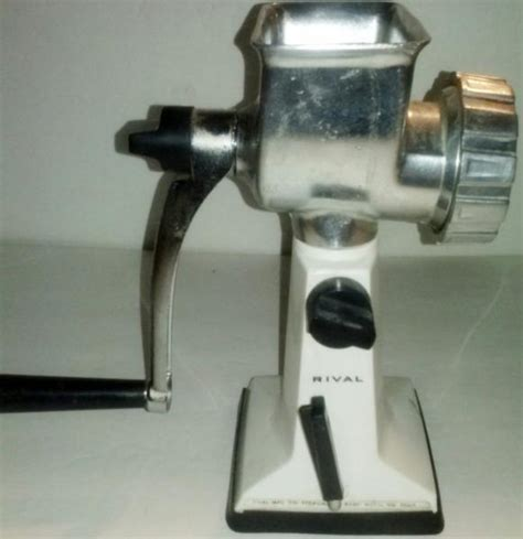 table top meat grinder rival table top meat grinder vintage hand crank grind o
