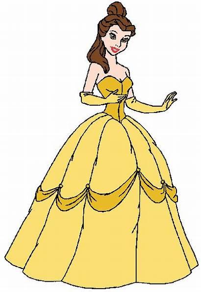 Belle Disney Princess Clipart Clip Background Fanpop