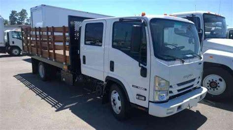 Isuzu Nqr Crew Cab 16ft Stakebed 5. 2l Diesel
