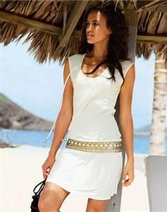 Tenue De Plage Chic : robe plage chic ~ Nature-et-papiers.com Idées de Décoration
