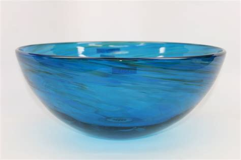 blue glass vessel sinks for bathrooms blue water iv blown glass vessel sink sinks gallery