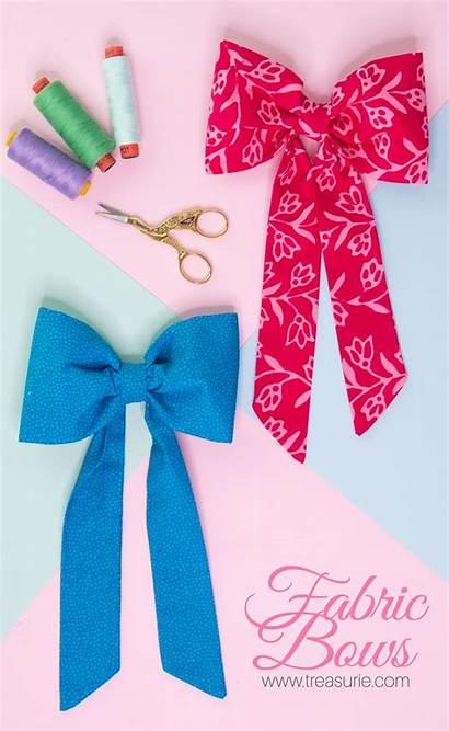 Diy Fabric Bows Wreaths Bow Clothing Tutorial