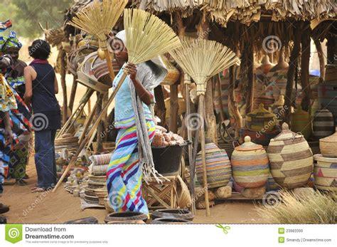 Women At The Market Senegal Editorial Stock Image Image