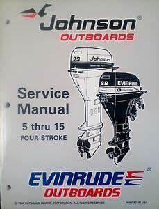 1997 Johnson Evinrude 5 6 8 9 9 15 Hp 4
