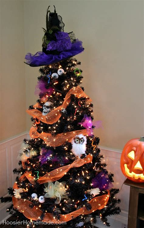 halloween tree hoosier homemade