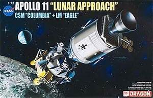 Apollo 11 Lunar Approach Space Program Plastic Model Kit 1 ...