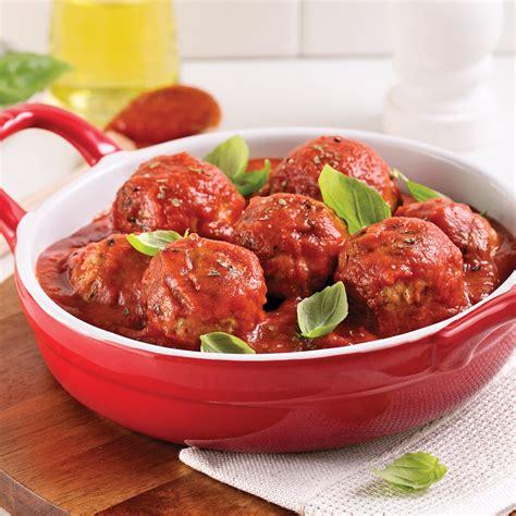 boulettes de viande sauce tomate cuisine italienne boulettes farcies au fromage sauce tomate recettes