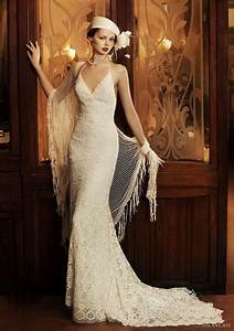 1920s inspired wedding dresses With 1920s themed wedding dress