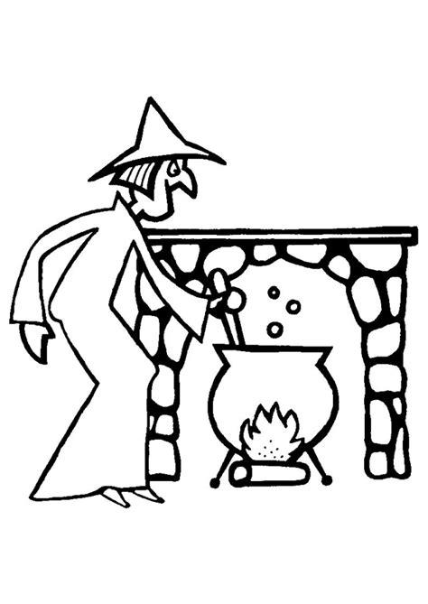 dessin de cuisine à imprimer coloriage sorciere cuisine sur hugolescargot com