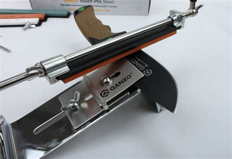 sharpening angle for kitchen knives ganzo touch pro steel gtps knife sharpener professional