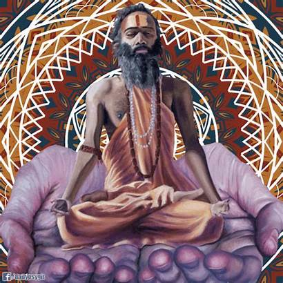 Meditation Inspired Gifs Psychedelic Cosmic