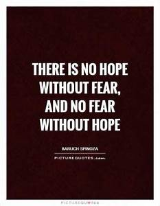 PictureQuotes.c... Hope Over Fear Quotes