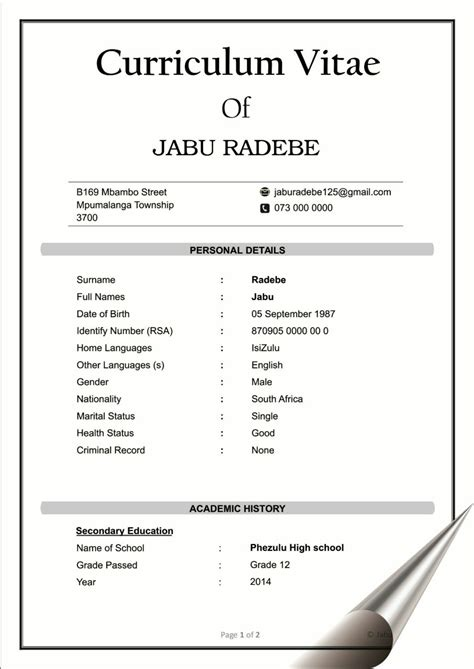 Draft Curriculum Vitae by How To Draft A Cv Letters Free Sle Letters