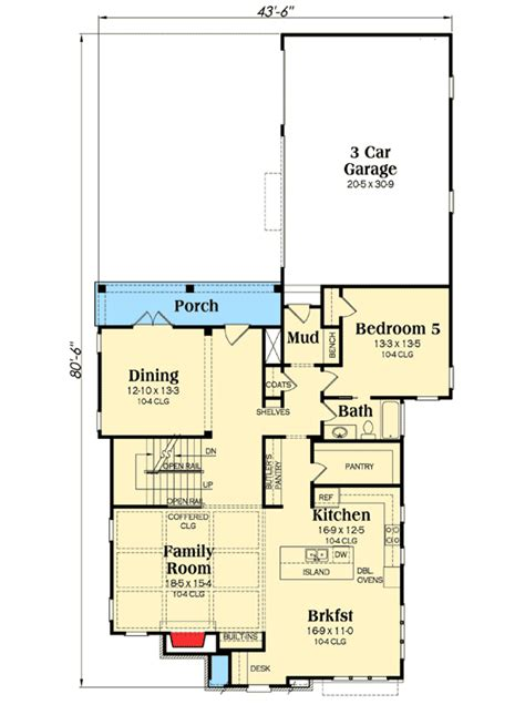 His And Bathroom Floor Plans by His And Bathrooms 75414gb Architectural Designs