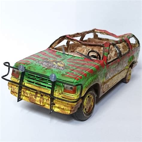 jurassic park car toy jurassic park maisto ford explorer tour car electric 04 wr