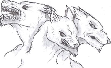 cerberus drawing trianna