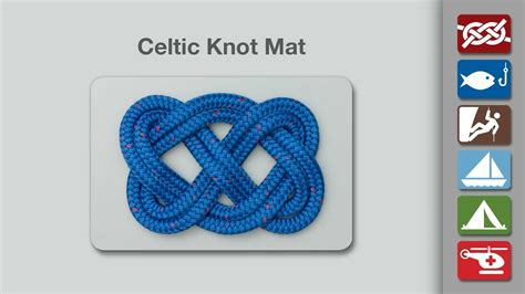 celtic doormat celtic knot mat how to make a celtic knot mat