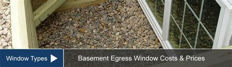 basement egress windows cost install prices