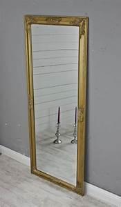 Spiegel Rund Groß : spiegel gold 150 wandspiegel standspiegel holz landhaus ~ Indierocktalk.com Haus und Dekorationen