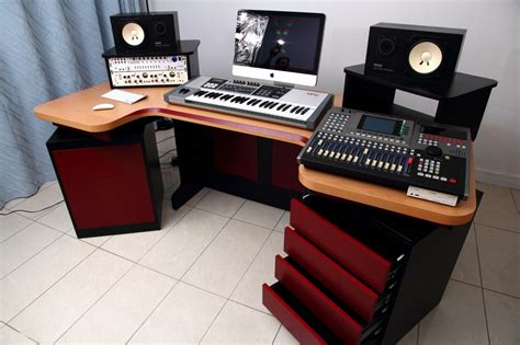 home studio mixing desk mesmerizing recording elliptic studio desk design ideas