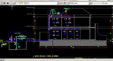 mekanikal elektrikal plumbing kumpulan referensi gambar