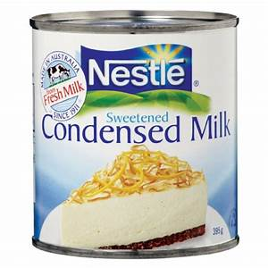 an Artist: condensed milk