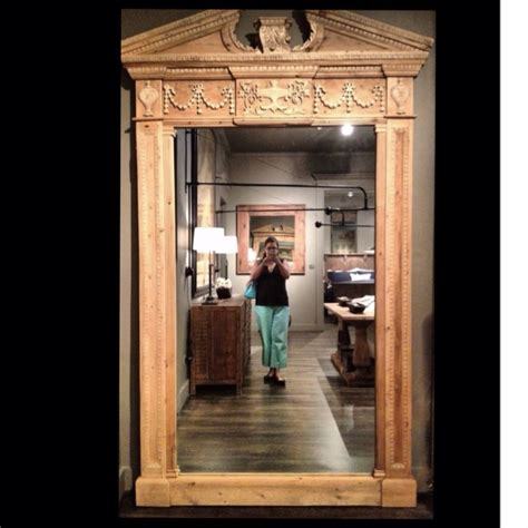 floor mirror hardware absolutely love this ornate floor length mirror from restoration hardware home is where you