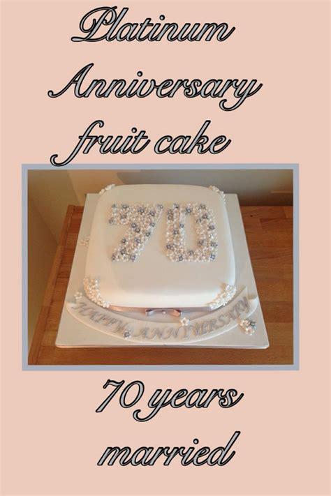 platinum anniversary cake wedding anniversary